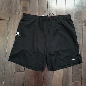 Men's Black Salomon Shorts Size XXL